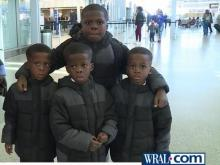 WRAL family grows when immigrant employee's wife, sons join him in Raleigh