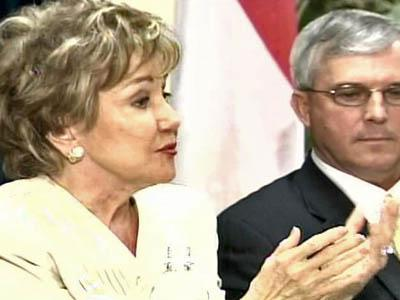 Elizabeth Dole with Steve Bizzell