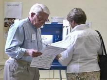 Voting, voters, polling place, polling booth, ballots generic