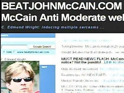 BeatJohnMcCain.com homepage