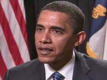WEB ONLY: Barack Obama Interview With Dan Bowens