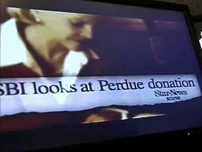 Anti-Beverly Perdue ad