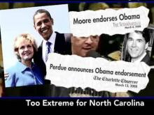 N.C. GOP Ad Blasts Obama, Perdue, Moore