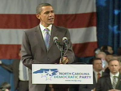 Democratic presidential candidate Sen. Barack Obama proposed a $150 billion plan that would over 10 years invest money into alternative energies.