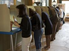 Few problems reported as voters make 'steady' turnout