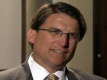 McCrory outlines themes for campaign