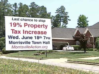 Morrisville leaders consider tax increase