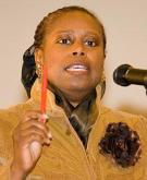 Cynthia McKinney, the Green Party nominee for president