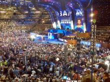 Democrats opened their four-day convention in Denver on Monday, Aug. 25, 2008.