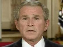 Web only: President Bush addresses financial crisis