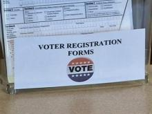 Wake County processing voter applications