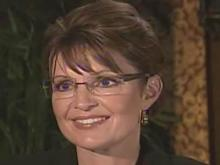 Web only: Palin talks with David Crabtree