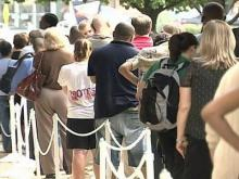 Early voting sets first-day record