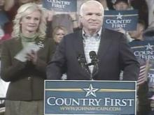 Web only: McCain speaks at Concord rally