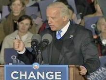 Web only: Joe Biden speaks at Meredith College