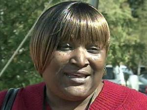 Flora Joyner, a Wake County voter