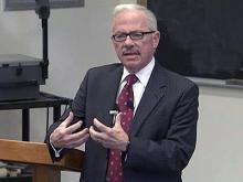 Part 1: Libertarian candidate Barr speaks at Duke