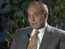 Web only: Former U.S. senator Bob Dole on wife's campaign
