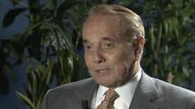 IMAGE: Former GOP presidential nominee Bob Dole has advanced lung cancer