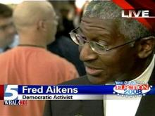 Democratic activist Fred Aikens