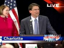Web only: McCrory concedes governor's race