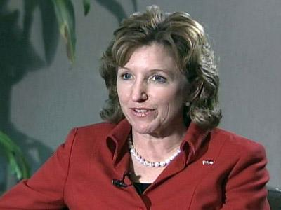 U.S. Senator-elect Kay Hagan during a Nov. 5, 2008 interview.