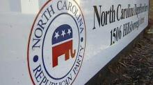 North Carolina Republican Party sign, state Republican Party, state GOP