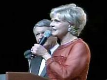 Governor-elect Beverly Perdue at the 2009 Inaugural Ball held at the Raleigh Convention Center on Jan. 9, 2009.