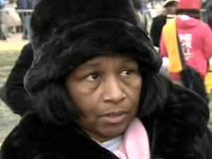 Francine Brown of Fayetteville was among the thousands who gathered on Jan. 18, 2009, for a pre-inauguration concert in Washington, D.C.