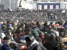National Mall inauguration crowd