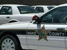 Wake County Sheriff's car