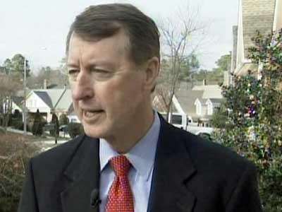 Second District Congressman Bob Etheridge talks about stimulus bill