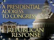 Republican response to Obama address