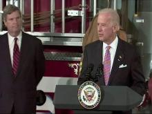 Joe Biden at Pikeville firehouse