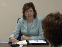 Sen. Hagan talks stimulus
