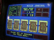 Video poker machine generic