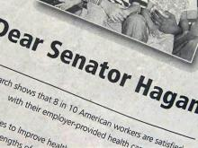 Hagan health plan ad