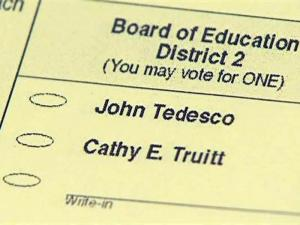 Cathy Truitt's name will remain on the ballot for a Nov. 3, 2009, runoff despite her decision to drop out of the race.