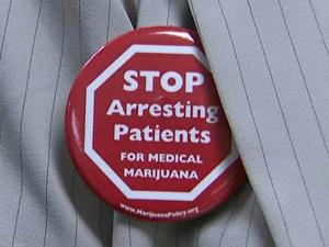 Medical marijuana supporter
