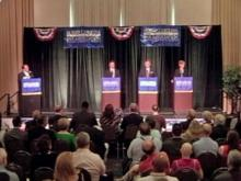 Burr, Marshall and Beitler face off in first joint forum