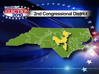 Map of 2nd congressional district