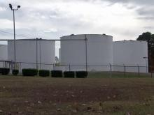 Neighbors petition against planned storage tank