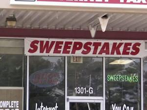 Sweepstakes cafes will be forced to close by a law that takes effect Dec. 1.