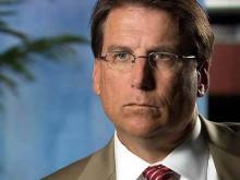 Web only: McCrory calls Perdue irrelevant
