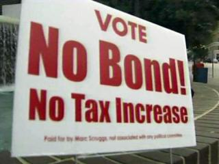 Opponents to transportation and housing bonds on the October 2011 ballot in Raleigh say local residents cannot afford to pay for the $56 million in projects in the bond issues.