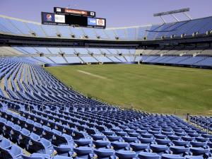 Bank of America Stadium in Charlotte, North Carolina prior to the 2012 Democratic National Convention.