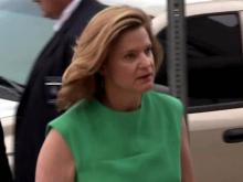 Jennifer Palmieri at federal courthouse