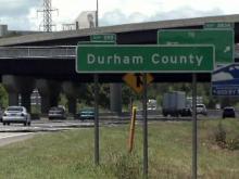 Durham County sign