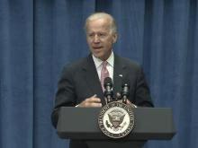 Biden makes bid for bio-tech in NC visit