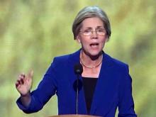 U.S. Senate candidate Elizabeth Warren